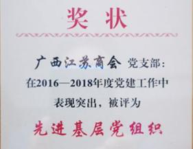党支部荣获先进基层党组织称号